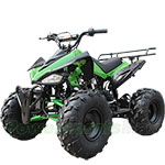 "ATV-B04 125cc ATV with Automatic Transmission w/Reverse, Foot Brake, Remote Control! Big 19""/18""Tires!"