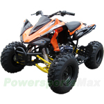 ATV-D126-R358 150cc Sports ATV with CVT Transmission w/Reverse, Electric and Foot Start! Big Tires! Refurbished, In Crate!