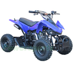 "ATV-F022 56.8cc Kids ATV with Automatic Transmission, Remote Control, Electric Start! Hydraulic Brakes! 6"" Tires!"
