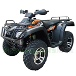 "ATV-X13 125cc Utility ATV with Automatic Transmission w/Reverse, Foot Brake, Remote Control! Big 19""/18""Tires! Big LED Lights!"