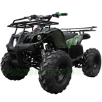 "Coolster ATV-3125XR-8S 125cc Utility ATV with Semi-Automatic Transmission w/Reverse, Foot Brake, Remote Control! Big 19"" Tires!"