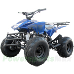 "ATV-J019 125cc ATV with Semi-Automatic Transmission w/Reverse, Foot Brake, Remote Control! Big 19""/18"" Tires!"