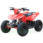 "ATV-L004 350W SAHARA X Electric Kids ATV with Selectable Speed Control! High-Tensile Steel Frame, 6"" Tires! Super Hot!"