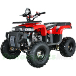 ATV-P61 125cc Utility ATV with Semi-Automatic Transmission w/Reverse, Foot Brake, Remote Control!