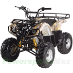 "ATV-T005 110cc Utility ATV with Automatic Transmission, Foot Brake, Remote Control! Big 16"" Tires!"