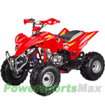 "ATV-T010 200cc Sports ATV with 4-Speed Manual Transmission w/Reverse, Big 21""/20"" Tires!Smaller Bumper!"