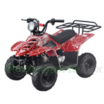 ATV-T016 110cc ATV with Automatic Transmission,Remote Control! Big Headlight and Rear Rack!