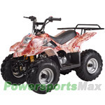 "ATV-T022 110cc ATV with Automatic Transmission, Foot Brake, Rear Rack and Remote Control! Big 16"" Tires!"