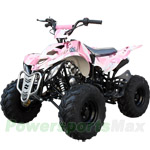 "ATV-T029 125cc ATV with Automatic Transmission w/Reverse, Foot Brake and Remote Control! Big 16"" Tires!"