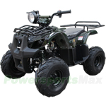"ATV-T033 125cc ATV with Automatic Transmission w/Reverse, Foot Brake and Remote Control! Big 18"" Tires!"