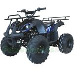 "ATV-V004 125cc ATV with Automatic Transmission w/Reverse, Foot Brake, Remote Control! Big 19""/18""Tires! Big LED Lights!"