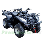 "ATV-W002 250cc Utility ATV with 5-speed Automatic clutch Transmission w/Reverse, Big 23""/22"" Tires!"