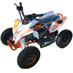 "RPS ATV110-Madix 110cc ATV with Automatic Transmission, Electric Start! 145/70-6"" Wheels!"