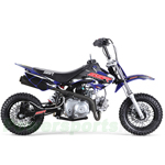 "SSR SR70C 70cc Dirt Bike with 4-Speed Semi-Auto Transmission, Front and Rear Disc Brakes! Kick Start! 10"" Tires!"