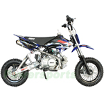SSR-110A1 110cc Pit Bike with Manual Transmission, Hydraulic Disc Brake, A-Type Swing Arm!