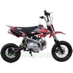 SSR-110DX Pro Pit Bike with Manual Transmission, Aluminum Parts Upgraded!