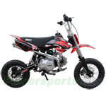 SSR-110SEMI Pit Bike with Semi-Automatic Transmission, Honda CRF50 Upgrade!