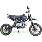 SSR-125SEMI Pit Bike with Semi-Automatic Transmission, Kick Start!