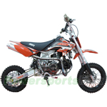 SSR-125X3 125cc Pit Bike with Any Gear Start and Kick Start, Aluminum Frame, Upgraded!