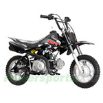 "SSR SR70 70cc Dirt Bike with 4-Speed Semi-Auto Transmission! Kick Start! 10"" Wheels!"