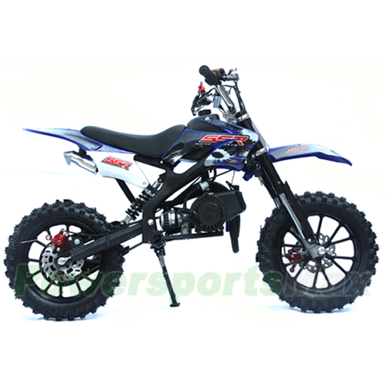 Dirt Bikes 50cc Black Blue Orange