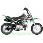 SSR SR70AUTO 70cc Dirt Bike with Automatic Transmission! Electric Start, New Arrival! Free Shipping!