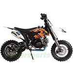 "DB-X21 Razz Motors 110cc Pitbike with Semi-Automatic Transmission, Kick Start! 14""/12"" Tires! Zongshen Brand Engine, Top Quality"