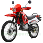 DB-C01 250RTE Round Head Enduro Dirt Bike with 5-Speed Manual Transmission and Electric/Kick Start, Big Wheels!