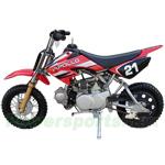 DB-D056 APOLLO 70cc Dirt Bike with Semi-Auto Transmission, Honda XR50 Clone!