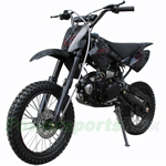 "DB-D062 APOLLO 125cc Dirt Bike with Manual Transmission, Inverted Forks, Kick Start! Big 17""/14"" Wheels!"