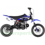 "DB-G006 Apollo 110cc Dirt Bike with 4-Speed Semi-Automatic Transmission, Kick Start! 14""/12"" Tires!"
