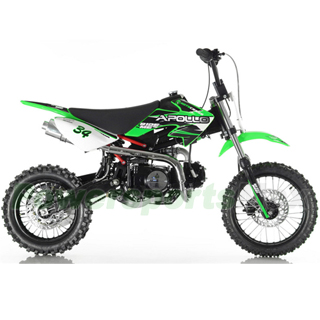 110cc pit bike db g006 apollo 110cc dirt bike with 4 speed semi automatic transmission kick start 1412 tires publicscrutiny Images