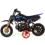 "DB-G007 Apollo 70cc Dirt Bike with Automatic Transmission, 10"" Wheels!"
