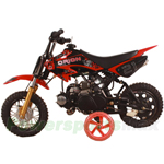 DB-G008 APOLLO 70cc Dirt Bike with Semi-Auto Transmission, Honda XR50 Clone!