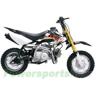 DB-J005 Coolster 70cc Dirt Bike with Semi-Auto Transmission, Honda XR50 Upgraded!