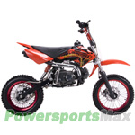 "DB-J011 Coolster 125cc Dirt Bike with 4-Speed Manual Transmission, Kick Start! 14""/12"" Wheels!"