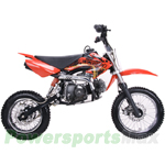 DB-J012 Coolster 125cc Pit Bike with Semi-Auto Transmission and Disc Brakes! Good Choice for Riders Stepping into the 125 class!