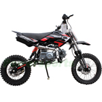 "Coolster QG-214-S 125cc Pit Bike with Semi-Auto Transmission, 14""/12"" Wheels! Good Choice for Riders Stepping into the 125 class"