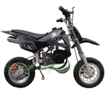 Coolster QG-50 50cc 2-Stroke Mini Dirt Bike, Front & Rear Disc Breaks, Super Fast!