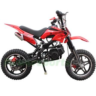 Coolster 49cc 2 Stroke Mini Dirt Bike Front Rear Disc Breaks