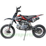 "DB-P18 125cc Dirt Bike with Four Forward Gears and Kick Start,Made by Apollo!High Quality!Big 17""/14"" Tires!"