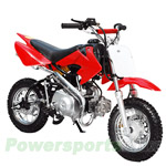 DB-T001 ATD-90A 90cc Dirt Bike with Semi-Automatic Transmission, Foot start,Front Hydraulic Disc Brake!Chain Drive!
