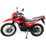"DB-W002  Hawk 250cc Dirt Bike with Shift 5-speed Transmission and Electric/kick Start! Big 21""/18"" Wheels! Free Shipping!"