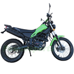 "RPS Magician 250 Dirt Bike with 5-speed Manual Transmission and Electric/kick Start! Big 21""/18"" Wheels! Free Shipping!"