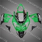 KAWASAKI NINJA ZX-9R 2001-2002 ABS Fairing Set -- Handcraft