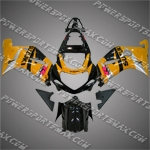 Suzuki GSX R600 2001-2003 ABS Fairing Set