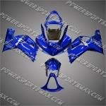 Kawasaki Ninja ZX6R 2003-2004 ABS Fairing set, Free Shipping!