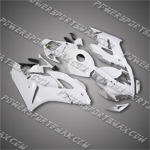 Injection Molded Fit CBR1000RR 04 05 All White Fairing 187A