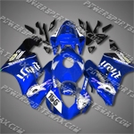 Injection Molded For CBR1000RR 04 05 155# DK. Blue White Fairing ZN137, Free Shipping!