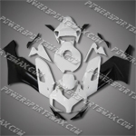 Injection Molded Fit CBR1000RR 04 05 Black White Fairing ZN958, Free Shipping!